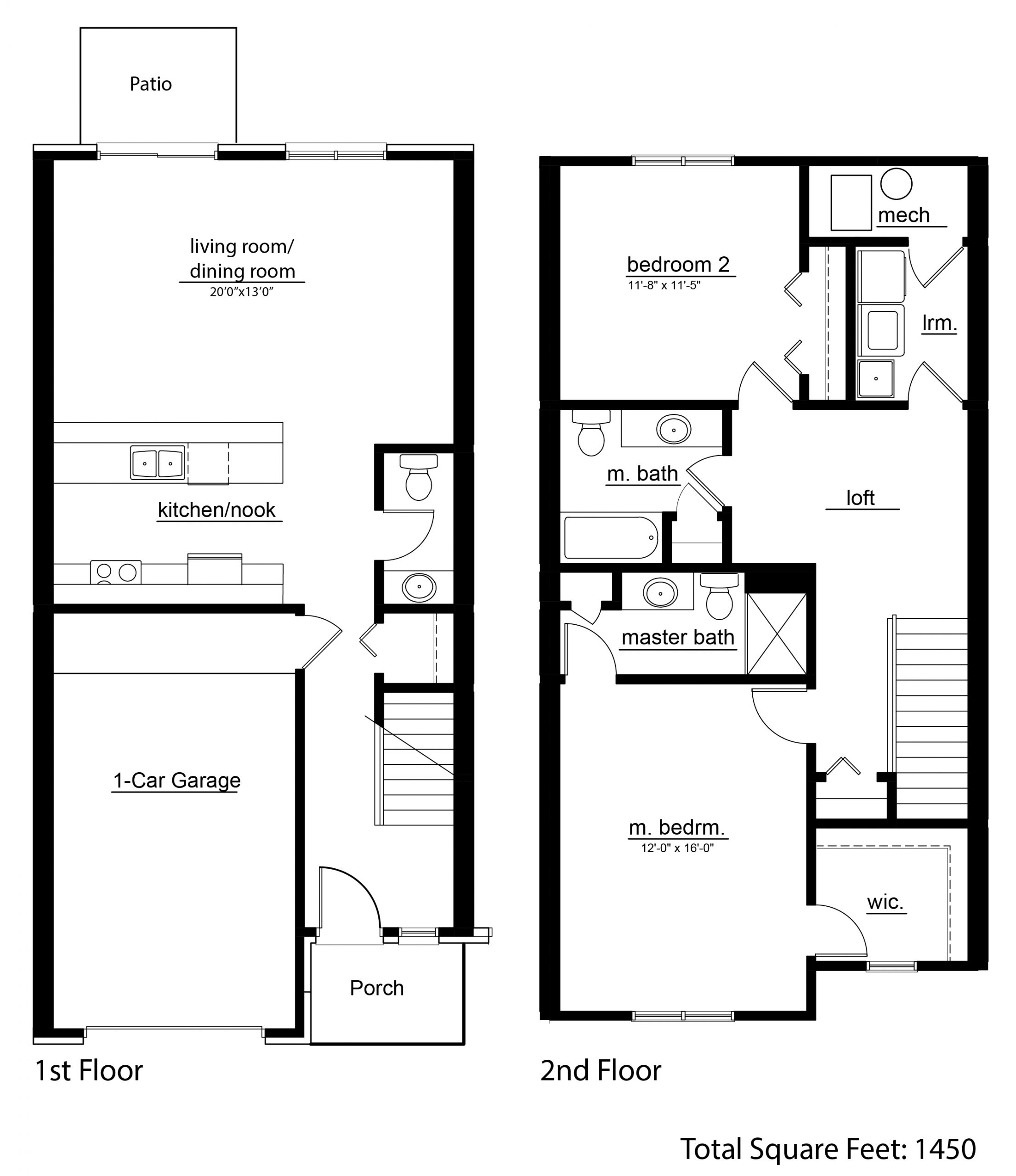 Floor Plan CAD View